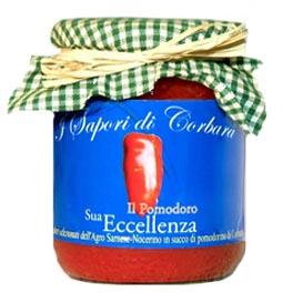 Sua Eccellenza il pomodoro San marzano DOP intero con buccia in succo di Corbarino