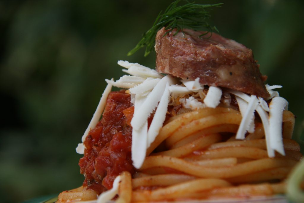 Particolare dello 'Scarpariello con Corbarino' de I Sapori di Corbara di Raffaele Vitale per Uno Mattina Weekend