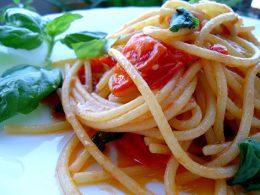 Spaghetti al pomodorino corbarino